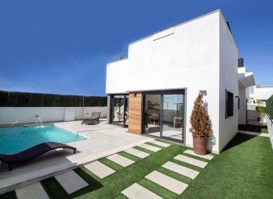 Immobilier Espagne : Maison/Villa Contemporaine De 3 Chambres Avec Piscine  Privée | Los Alcazares   Espagne   Achat/vente Appartements , Maisons,  Villas, ...